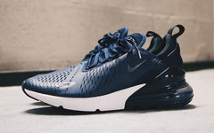 "近赏 Nike Air Max 270 全新""Midnight Navy""配色"