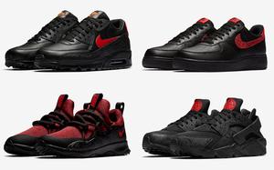 """黑红配有点好看!Nike """"Russian Floral"""" 别注系列登场"""