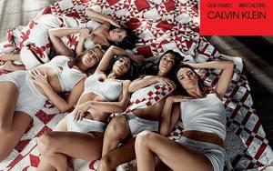 Kardashian-Jenner 五姐妹出镜 Calvin Klein 最新宣传大片