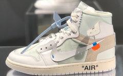 """实物图释出!Off-White x Air Jordan 1 """"White"""" 即将登场!"""