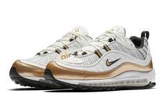 """气质白金,Nike Air Max 98 """"UK""""近赏"""