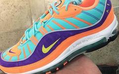 Nike Air Max 98本月将推出一款吸睛的亮眼配色!