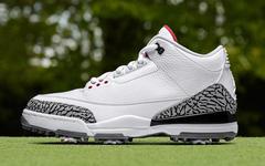 教练,我能穿上AJ3打高尔夫吗?当然能!