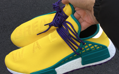 超抢眼!Pharrell x NMD Hu Trail 全新配色曝光!