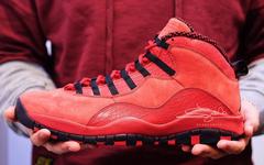 超限量发售!这双鲜红的 Air Jordan 10 情人节发售!