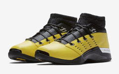 "官图释出!SoleFly x Air Jordan 17 Low ""Lightning"" 下周发售!"