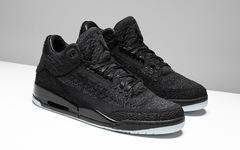 "Kaws既视感!Air Jordan 3 Flyknit ""Black"" 本月发售!"
