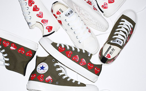 COMME des GARÇONS PLAY x CONVERSE 全新鞋款来了