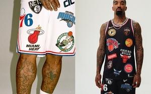 有点难驾驭..JR Smith 示范 Supreme x Nike 联名 NBA 队服系列