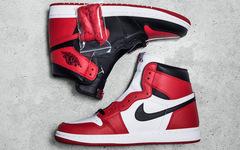 1=2!阴阳拼接造型 Air Jordan 1 五月发售!