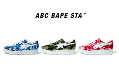 A BATHING APE 推出全新 ABC BAPE STA 鞋款