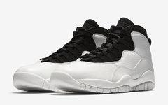 """简约黑白!Air Jordan 10 """"I'm Back"""" 释出官图!"""