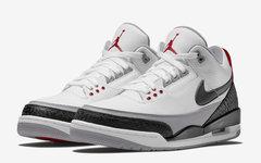 """官图释出!初代设计 Air Jordan 3 """"Tinker"""" 本月发售!"""