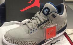乔治城PE!又一双 Air Jordan 3 专属配色释出!