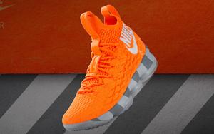 """詹皇已上脚!Nike LeBron 15 """"Orange Box"""" 今日突袭发售!"""
