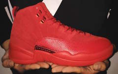 "又一愤怒的公牛!Air Jordan 12 ""Red Suede"" 年底发售!"