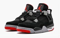 """确认发售时间!Air Jordan 4 """"Bred"""" 明年2月回归!"""