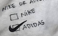 Nike or Adidas?来做一下选择题