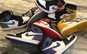 """全系列释出!Air Jordan 1 """"6 Rings"""" 系列或将称霸五一!"""