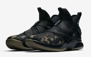"""官图释出!Nike LeBron Soldier 12 SFG """"Camo"""" 下周发售!"""