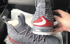 第三版本!Nike LeBron 15 Ohio State Buckeyes PE 释出灰色版本!