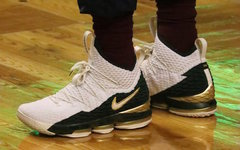 "客场再战!詹皇上脚 Nike LeBron 15 ""SVSM Air Zoom Generation""!"