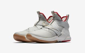 "官图释出!Nike LeBron Soldier 12 ""Light Bone"" 月底发售!"