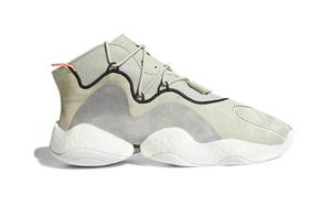 """再释新配色!adidas Crazy BYW """"Khaki Grey"""" 即将来袭!"""