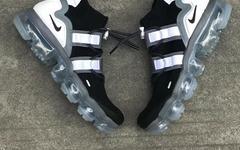 Nike VaporMax Utility 全新黑白配色实物曝光!