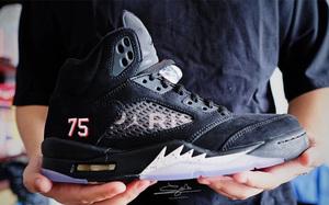 """细节出众!Air Jordan 5 """"Paris Saint-Germain"""" 今夏发售!"""