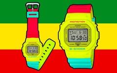 G-SHOCK 推出全新「RASTA」腕表系列
