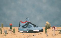 """美图看不停!Air Jordan 4 """"Travis Scott"""" 明日发售!"""