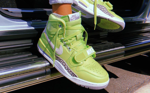 "即将发售!Air Jordan Legacy 312 NRG ""Ghost Green"" 空降本月!"