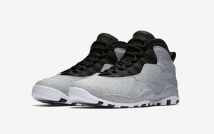 """""""水泥""""鞋面!Air Jordan 10 """"Cement"""" 下月发售!"""