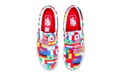 Vans Slip-On 全新「International Flags」别注配色登场