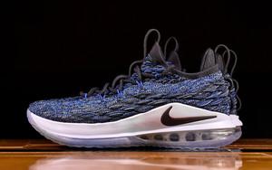"""部分店铺提前发售!Nike LeBron 15 Low """"Signal Blue"""" 美照释出!"""