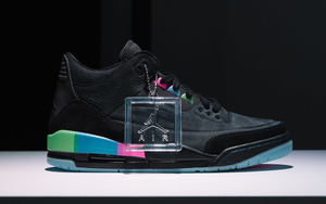 """细节释出!Air Jordan 3 """"Quai 54"""" 下月来袭!"""