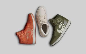 """Nike Air"" 系列!三款定制风格 AJ1 九月市售!"