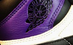 再释实物美图!黑紫脚趾 Air Jordan 1 九月发售!
