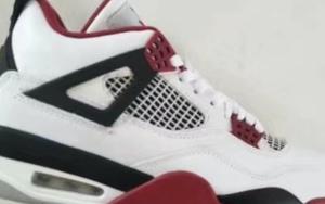 """实物曝光!Air Jordan 4 OG """"Fire Red"""" 明年回归!"""