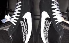 LeBron James 曝光 OW x Nike Blazer Studio Mid 全新黑色版本