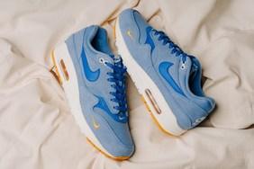 "Nike Air Max 1 Premium 全新配色""Work Blue"""
