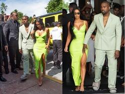 Yeezy拖鞋配LV西装,侃爷这套参加婚礼装扮如何?