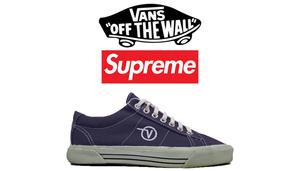 Supreme week 2 隐藏联名鞋款竟是与 Vans