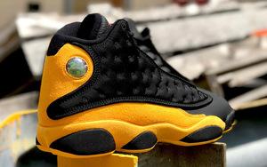 实物美如画!安东尼别注 Air Jordan 13 九月发售!