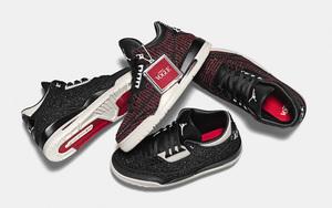 独特针织鞋面!Vogue x Air Jordan 3 AWOK 九月来袭!