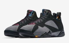"""官图释出!首款低帮 Air Jordan 7 Low """"Bordeaux"""" 即将到来!"""