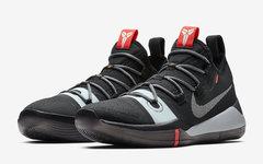官图释出!全新黑银 Nike Kobe AD 提前至本周发售!