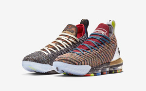 "What the 降临!Nike LeBron 16 ""What The"" 首次曝光!"