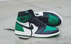 本月发售!Air Jordan 1 黑绿脚趾释出高清美照!